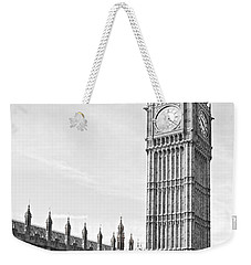 Weekender Tote Bag featuring the photograph The Big Ben - London by Luciano Mortula