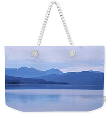 The Blue Shore Weekender Tote Bag