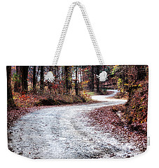 The Broken Road Weekender Tote Bag by Lynne Jenkins