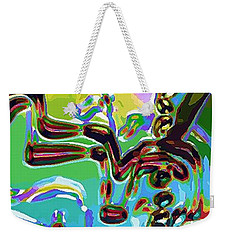 The Bull Fighter Weekender Tote Bag by Alec Drake