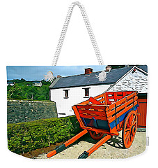 Weekender Tote Bag featuring the photograph The Cart by Charlie and Norma Brock