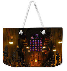 The Chapel At Valley Forge Park Weekender Tote Bag by Cindy Manero