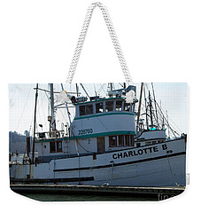 The Charlotte B Weekender Tote Bag