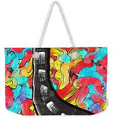 The Color Highway Weekender Tote Bag by Alec Drake