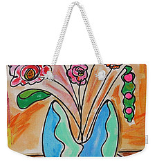 The Colors Of Sherbert Weekender Tote Bag
