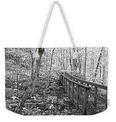 The Crossing Weekender Tote Bag by David Troxel