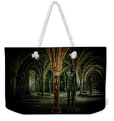 Weekender Tote Bag featuring the photograph The Crypt by Chris Lord