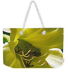 The Day Lily Met Her Prince Weekender Tote Bag