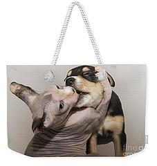 The Embrace Weekender Tote Bag