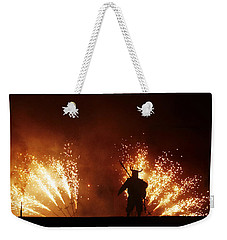 The Emergence Of The Devil Weekender Tote Bag