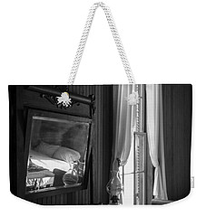 The Empty Bed Weekender Tote Bag by Lynn Palmer