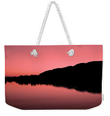 Weekender Tote Bag featuring the photograph The End Of The Day ... by Juergen Weiss