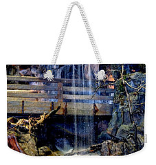 Weekender Tote Bag featuring the photograph The Falls by Deena Stoddard