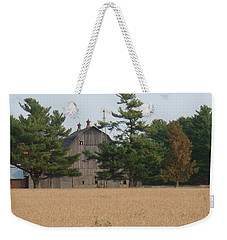 Weekender Tote Bag featuring the photograph The Farm by Bonfire Photography