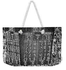 The Final Score- N C A A  Basketball Weekender Tote Bag