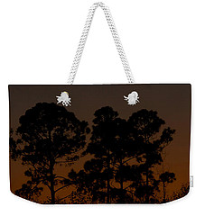 Weekender Tote Bag featuring the photograph The Fingernail Moon by Dan Wells