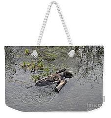 The Floating Island Weekender Tote Bag