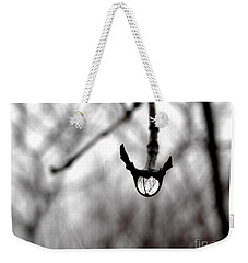 The Foretelling - Raindrop Reflection Weekender Tote Bag by Angie Rea