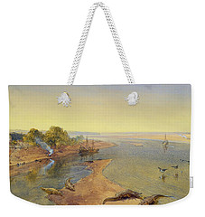 The Ganges Weekender Tote Bag by William Crimea Simpson