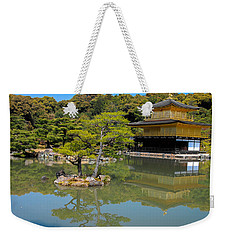 The Golden Pavilion Weekender Tote Bag
