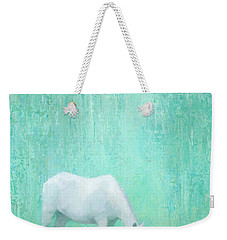 The Green Glade Weekender Tote Bag by Steve Mitchell