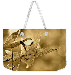 The Gum Leaf Weekender Tote Bag