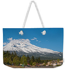 The Heart Of Mount Shasta Weekender Tote Bag