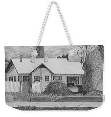 The House Across Weekender Tote Bag by Kume Bryant