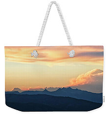 The Idaho Selkirks Weekender Tote Bag by Albert Seger