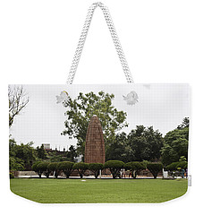 Weekender Tote Bag featuring the photograph The Jallianwala Bagh Memorial In Amritsar by Ashish Agarwal