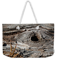 Weekender Tote Bag featuring the photograph The Knot by Todd Blanchard