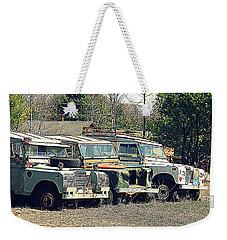 The Land Rover Graveyard Weekender Tote Bag