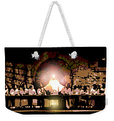 the Last Supper Weekender Tote Bag by George Pedro