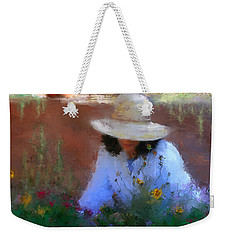 The Light Of The Garden Weekender Tote Bag by Colleen Taylor