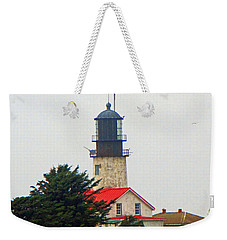 Weekender Tote Bag featuring the photograph The Lighthouse Of Tatoosh by Tikvah's Hope