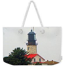 The Lighthouse Of Tatoosh Weekender Tote Bag by Tikvah's Hope