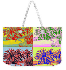 Weekender Tote Bag featuring the photograph The Loop In Pop Art by Alice Gipson