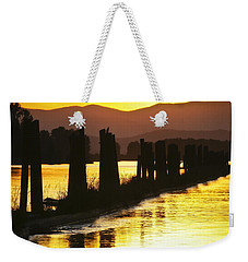 The Lost River Of Gold Weekender Tote Bag by Albert Seger
