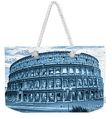 Weekender Tote Bag featuring the photograph The Majestic Coliseum by Luciano Mortula