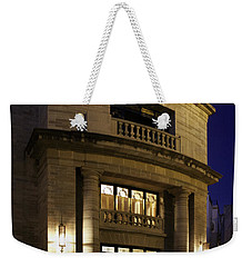 Weekender Tote Bag featuring the photograph The Meeting Place by Lynn Palmer
