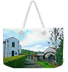 Weekender Tote Bag featuring the photograph The Mill by Charlie and Norma Brock