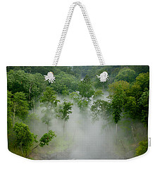 The Mist In The Valley Weekender Tote Bag