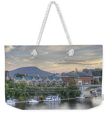 The Mountain Weekender Tote Bag by David Troxel