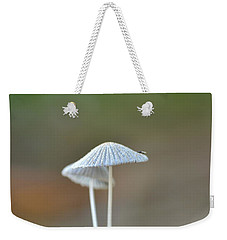 Weekender Tote Bag featuring the photograph The Mushrooms by JD Grimes