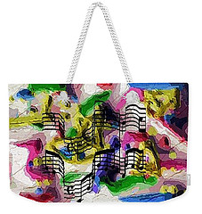 The Music In Me Weekender Tote Bag by Alec Drake