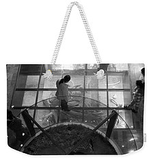 Weekender Tote Bag featuring the photograph The Oculus by Lynn Palmer