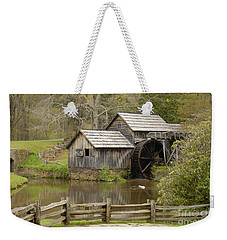 The Old Grist Mill Weekender Tote Bag by Cindy Manero