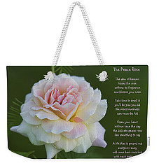 The Peace Rose Weekender Tote Bag