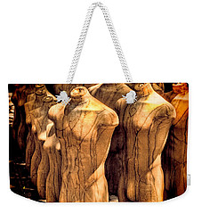 Weekender Tote Bag featuring the photograph The Protest by Chris Lord