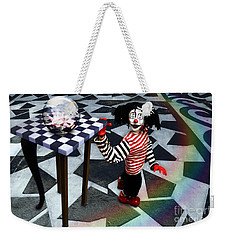 The Puppet Freedom Weekender Tote Bag by Rosa Cobos